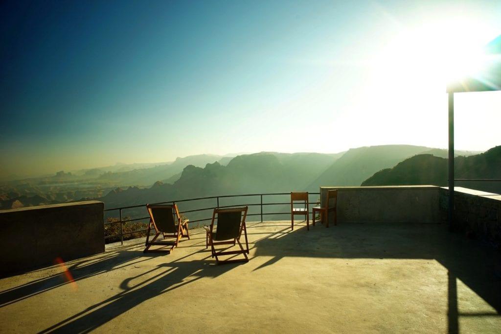 Limalino veranda views
