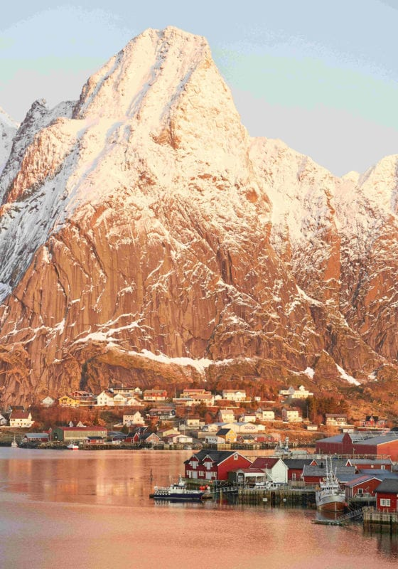 Lofoten Norway Coastal Village Pelorus