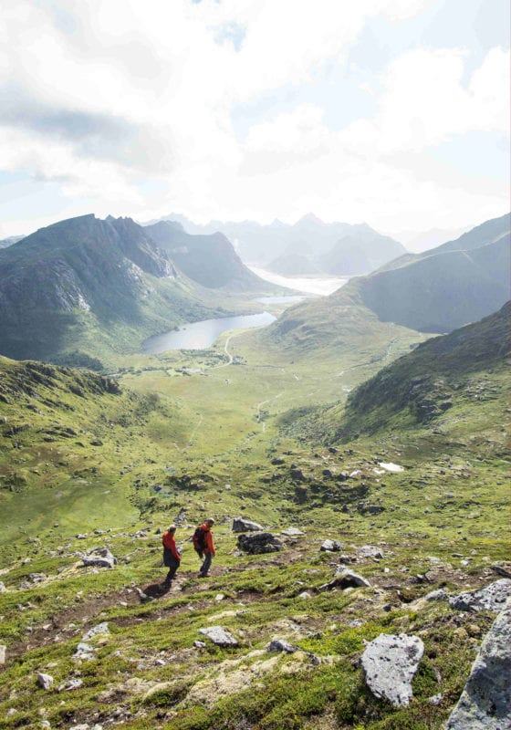 Lofoten Norway Hiking Mountains Pelorus