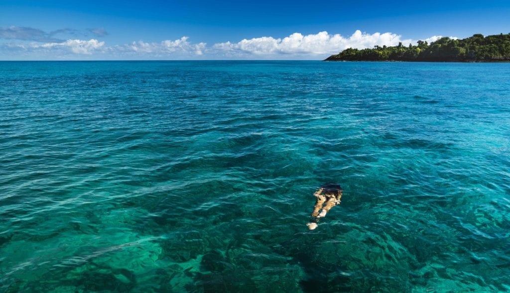 Snorkeling in Madagascar