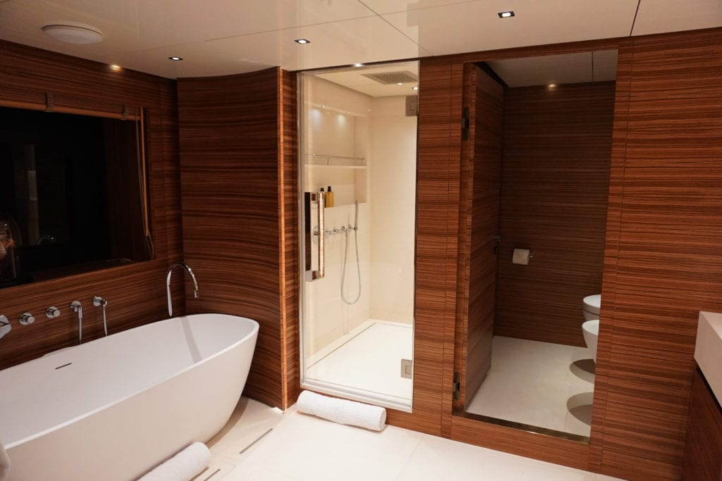 Guest Ensuite on Magna Grecia Yacht