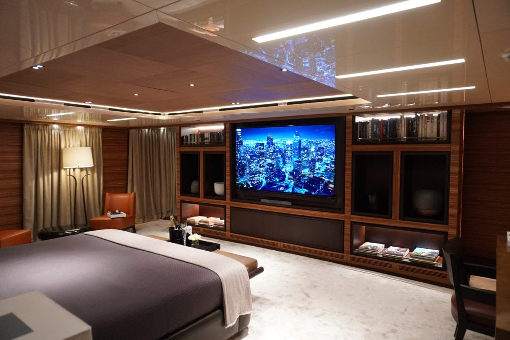 Master Suite on Magna Grecia Yacht
