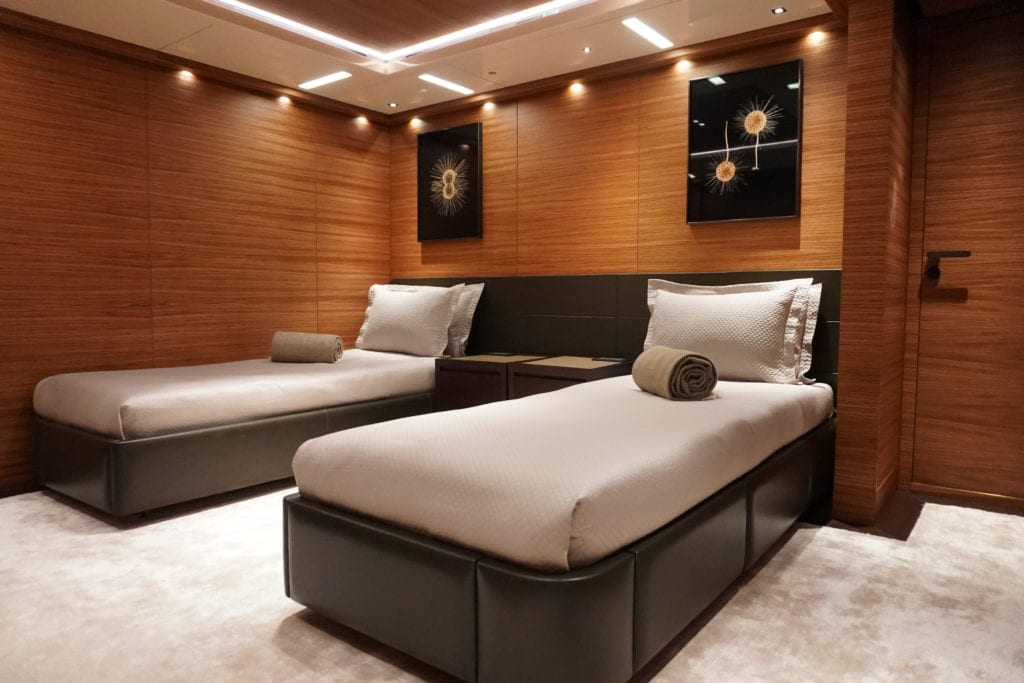 Double Guest Suite on Magna Grecia Yacht