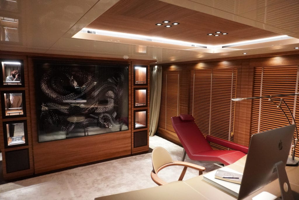 Office on Magna Grecia Yacht