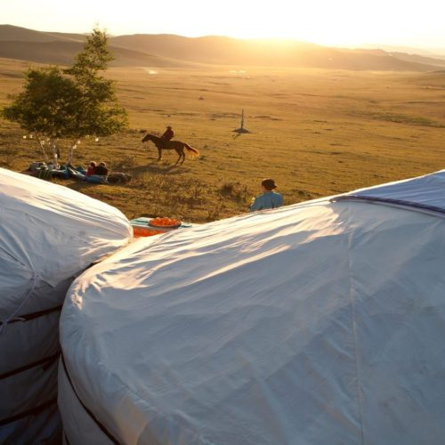 Nomadic Life in Traditional Mongolia