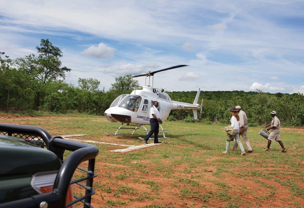 Helicopter Zimbabwe