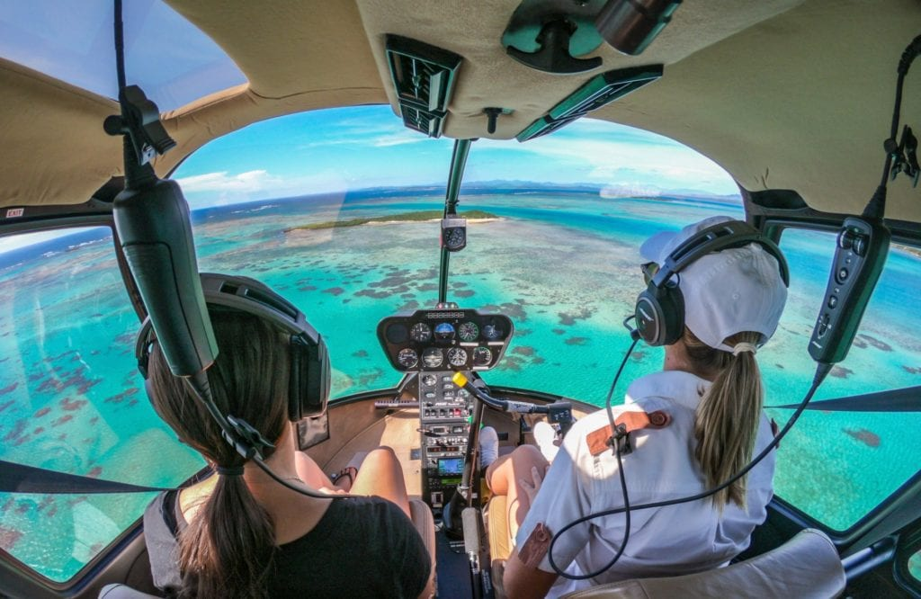 helicopter ride time + tide miavana