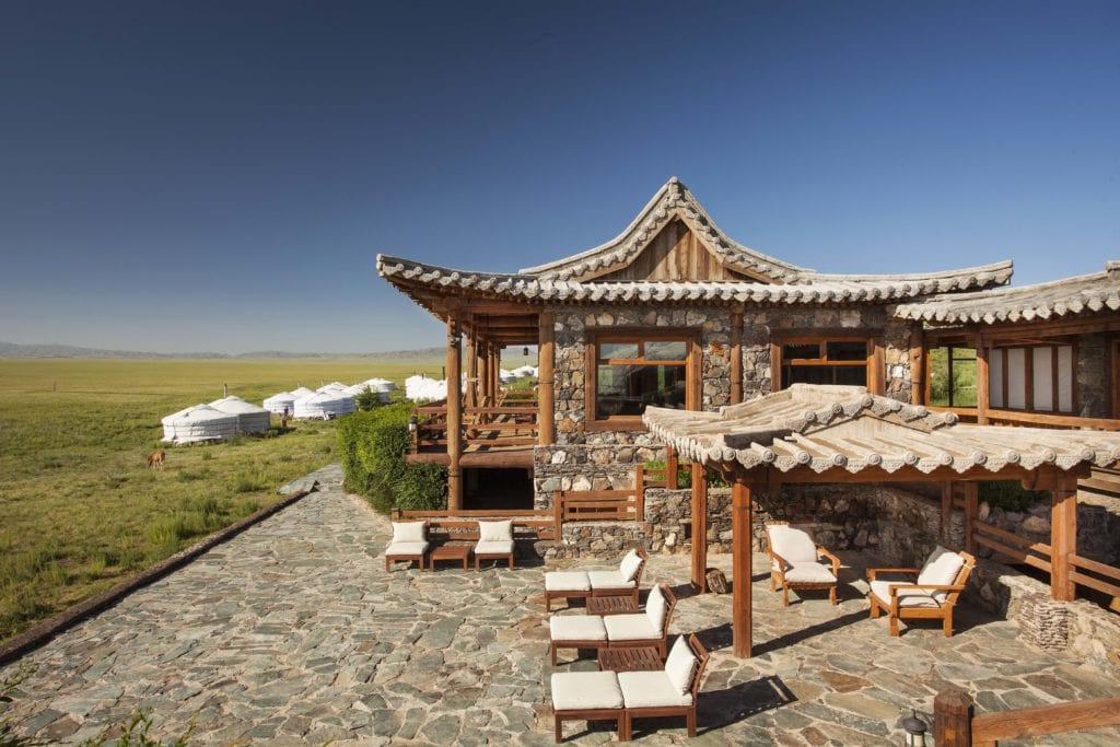 Mongolia Camel Lodge Main Building