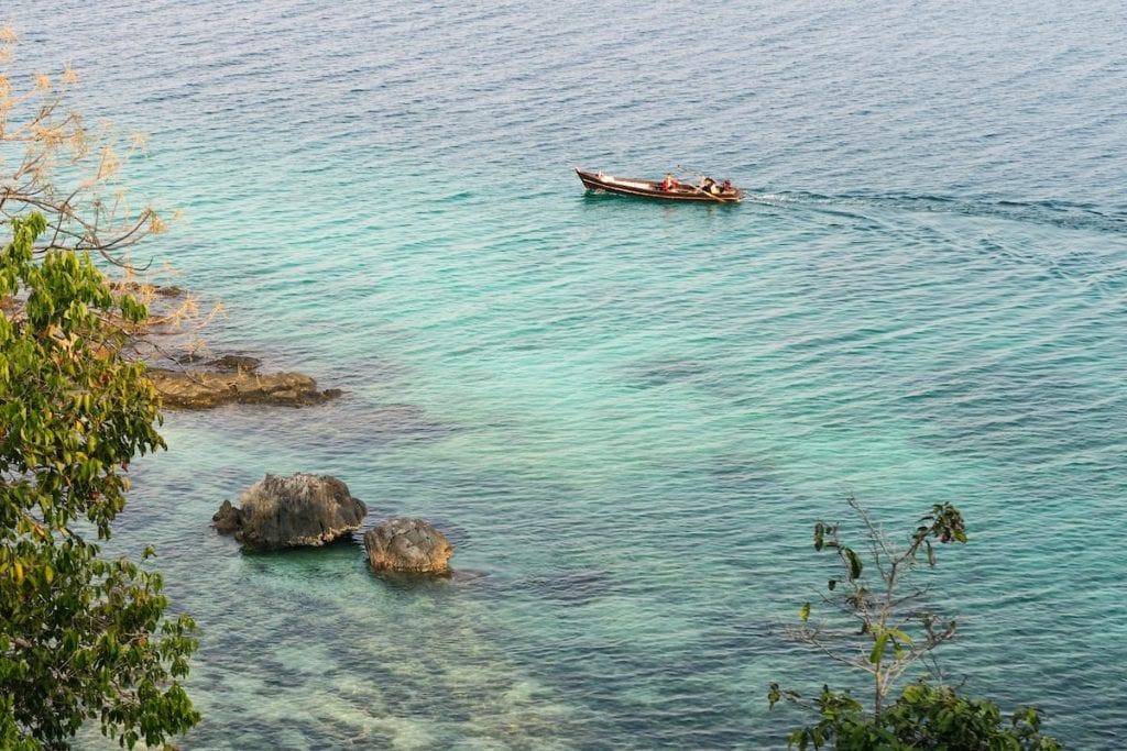 mergui archipelago boat myanmar