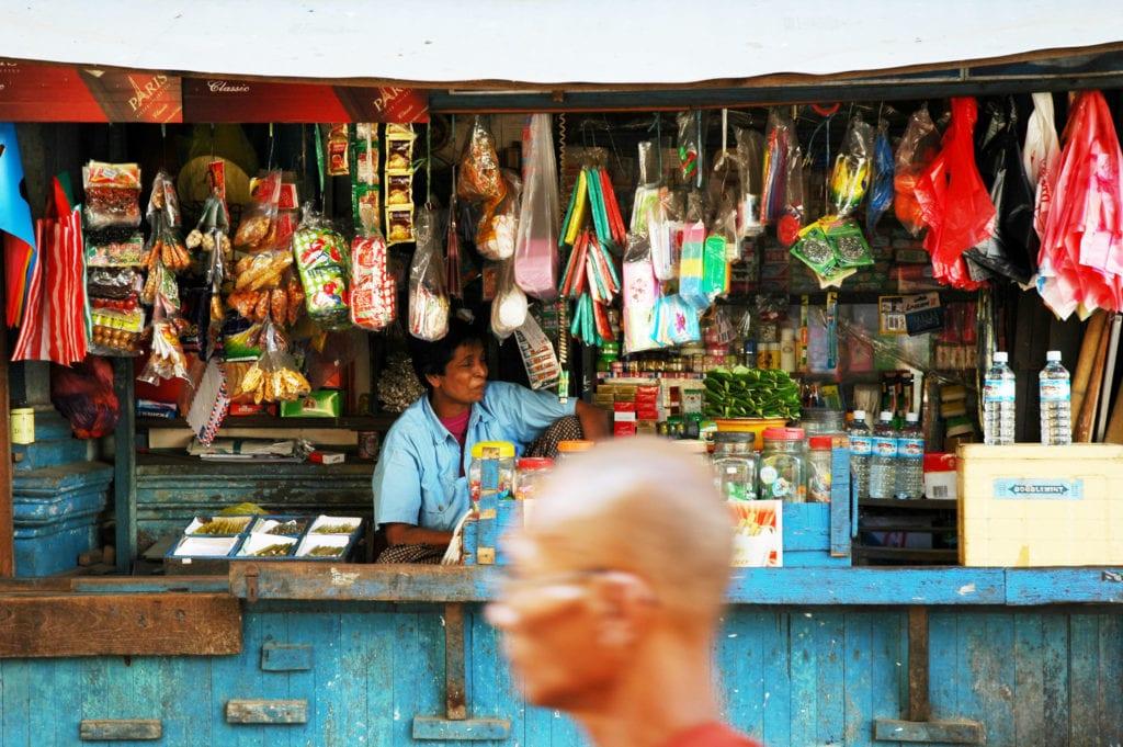 local shop in myanmar