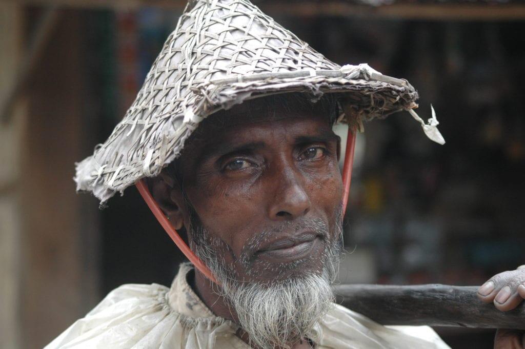 portrait photograph of myanmar man