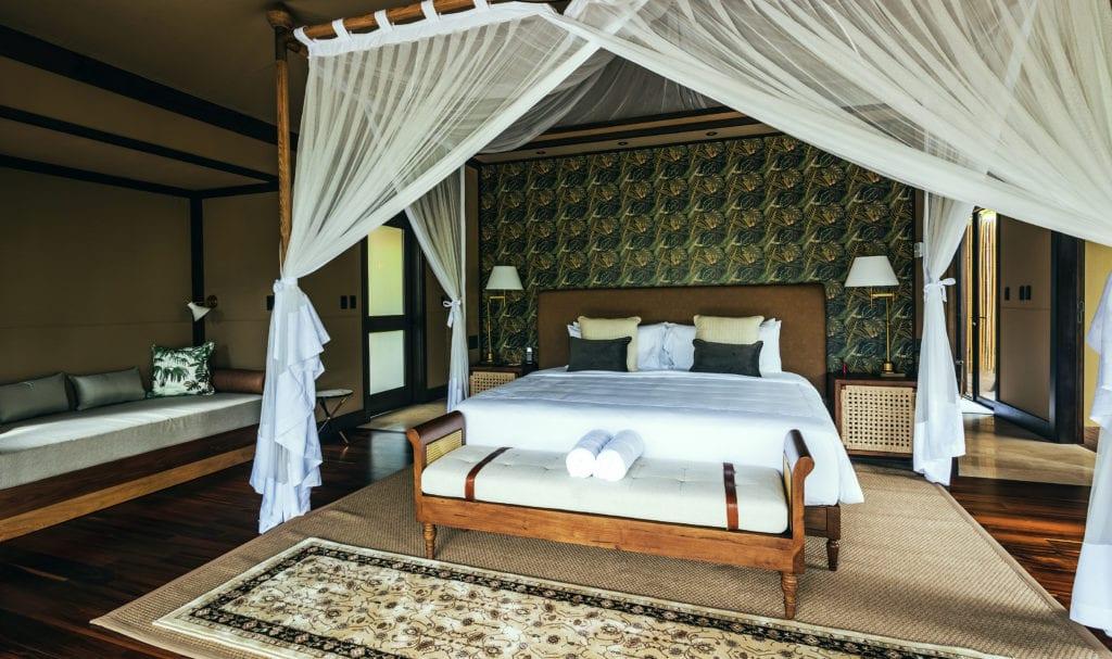 bedroom interior Nayara Tented Camp