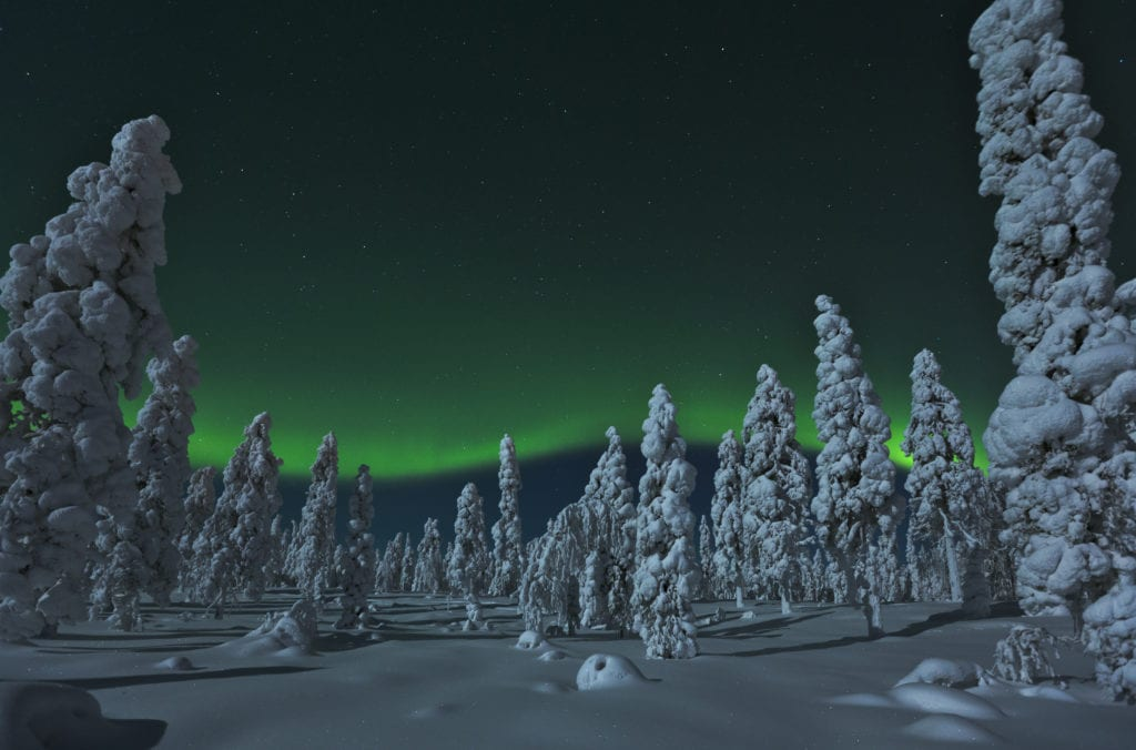 Northern Lights Aurora Borealis Lapland