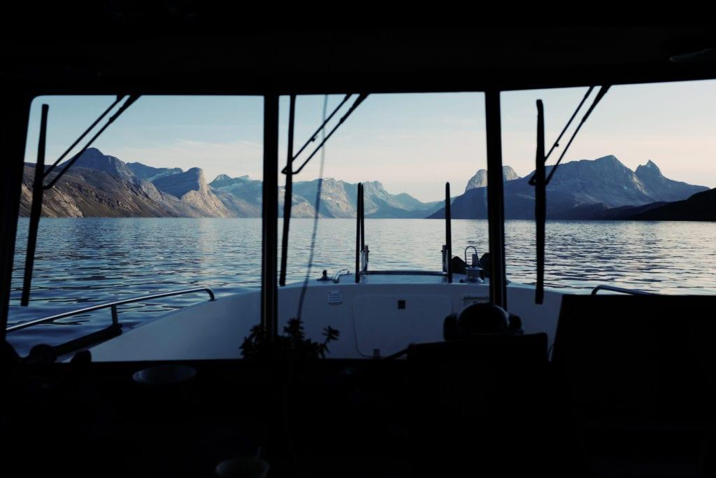 Nuuk Greenland Yacht Bridge View