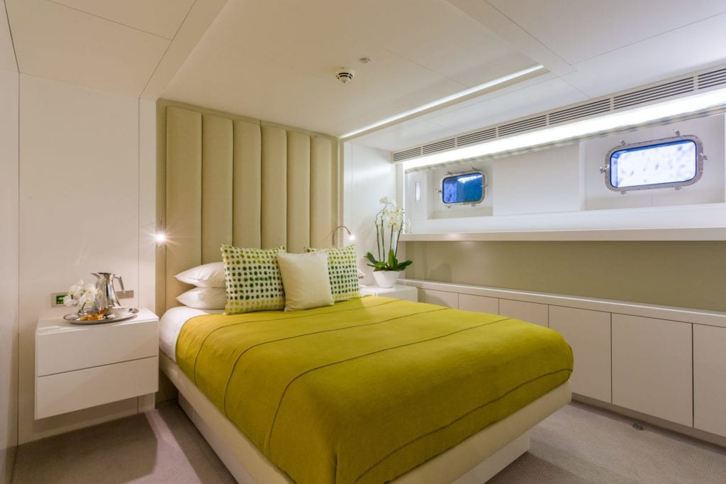 Double Guest Suite on Ocean's Seven Yacht