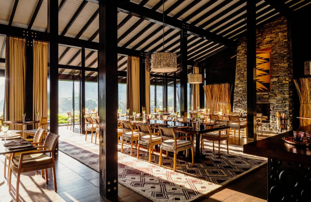 One and Only Nyungwe House Dining Room Interior Rwanda