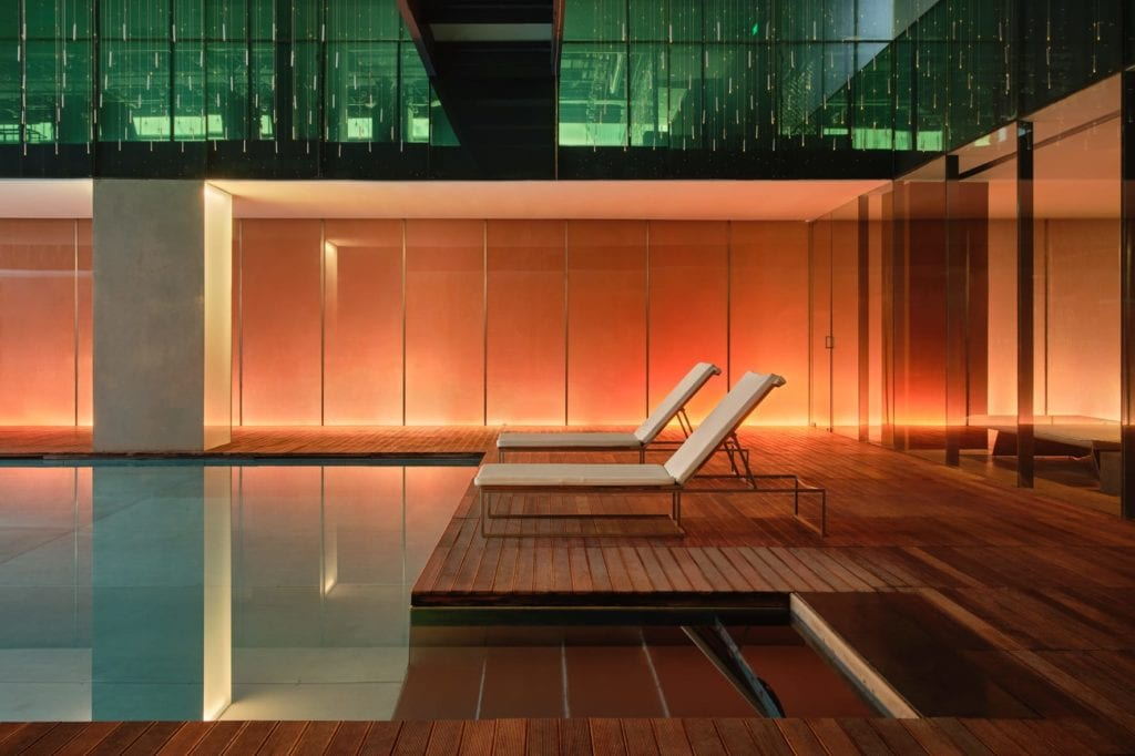 swimming pool opposite house