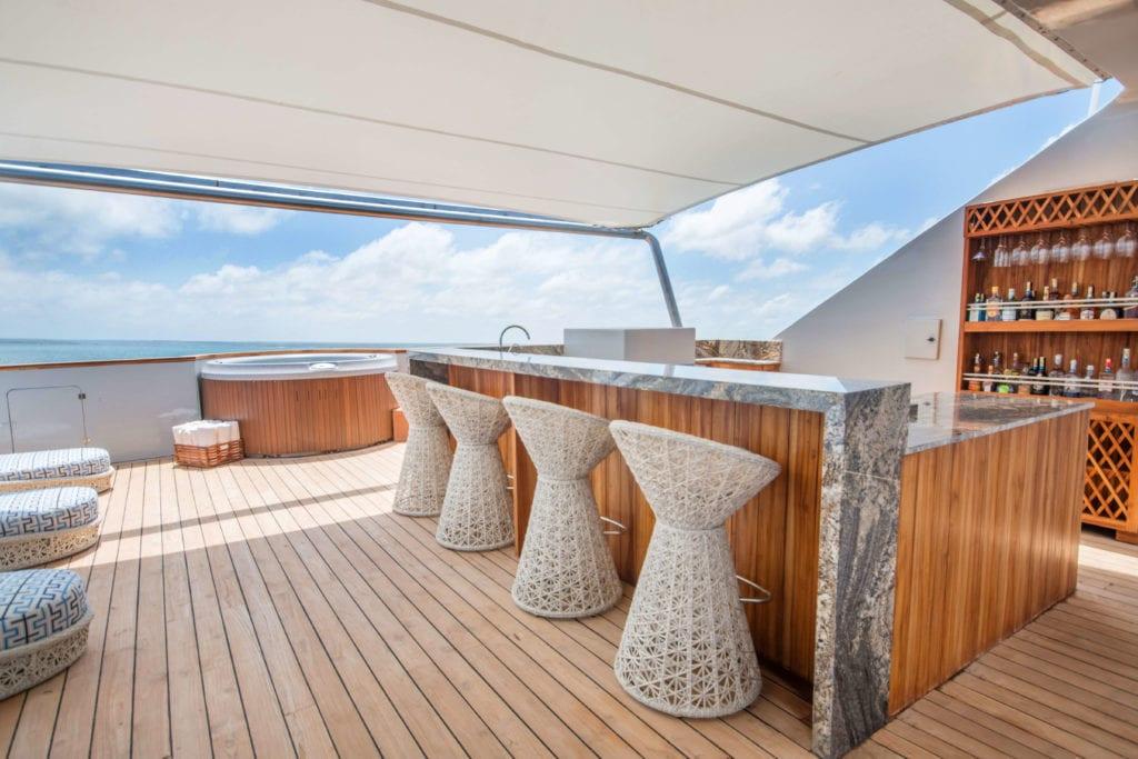 origin and theory yacht galapagos exterior