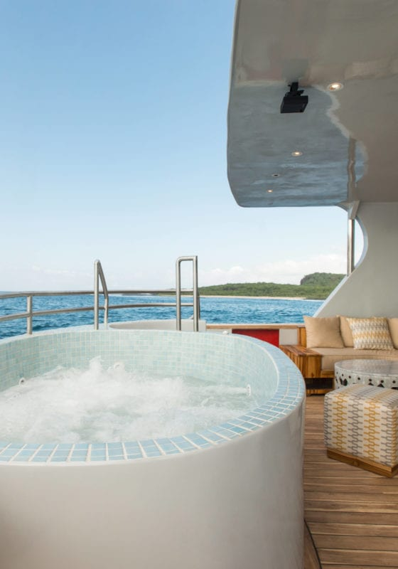 origin theory yacht jacuzzi exterior