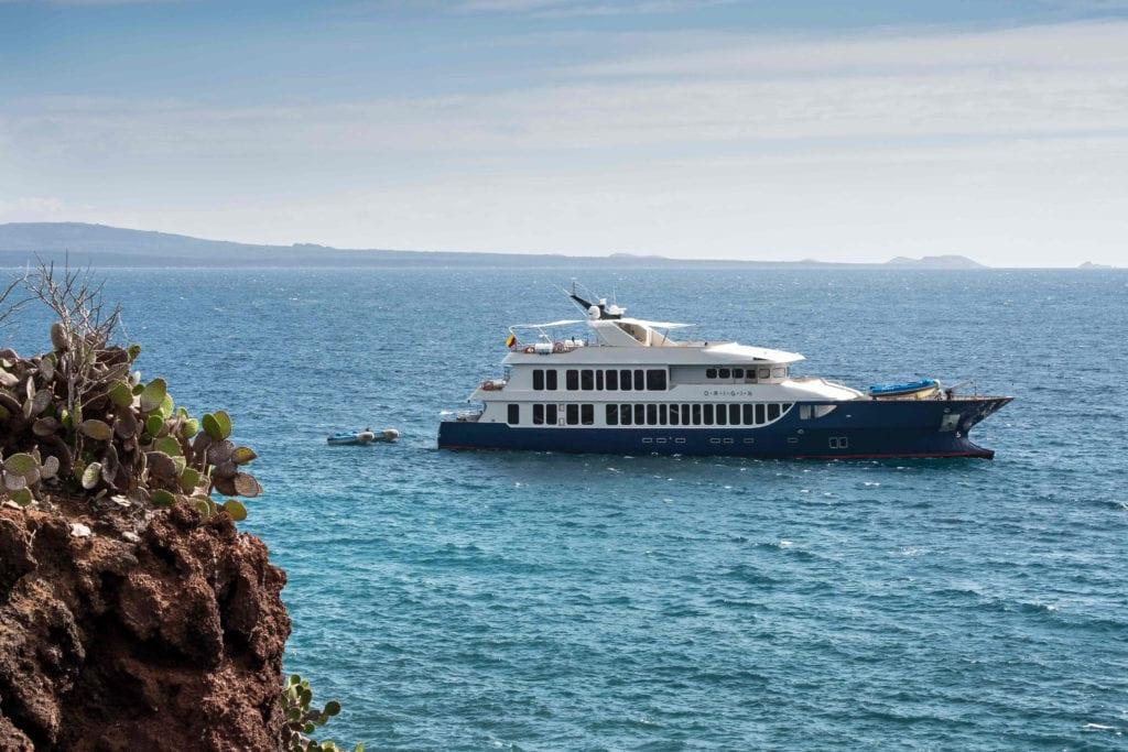 origin yacht galapagos