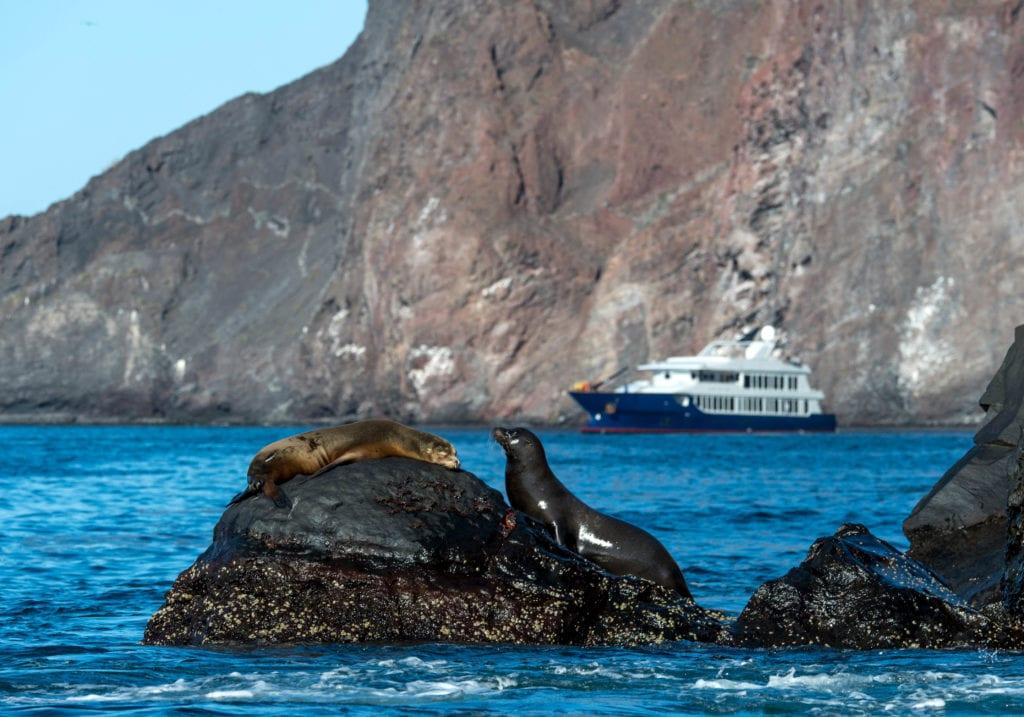 origin yacht galapagos exterior