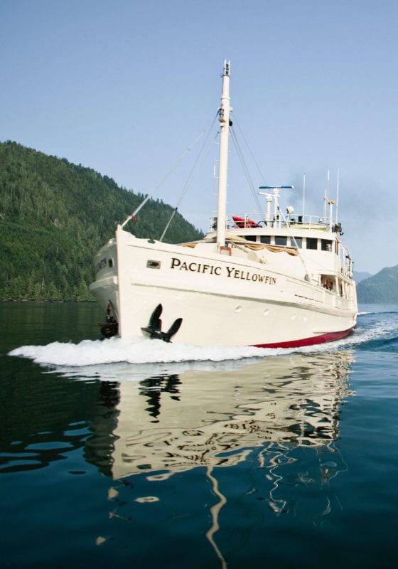 pacific yellowfin yacht exterior