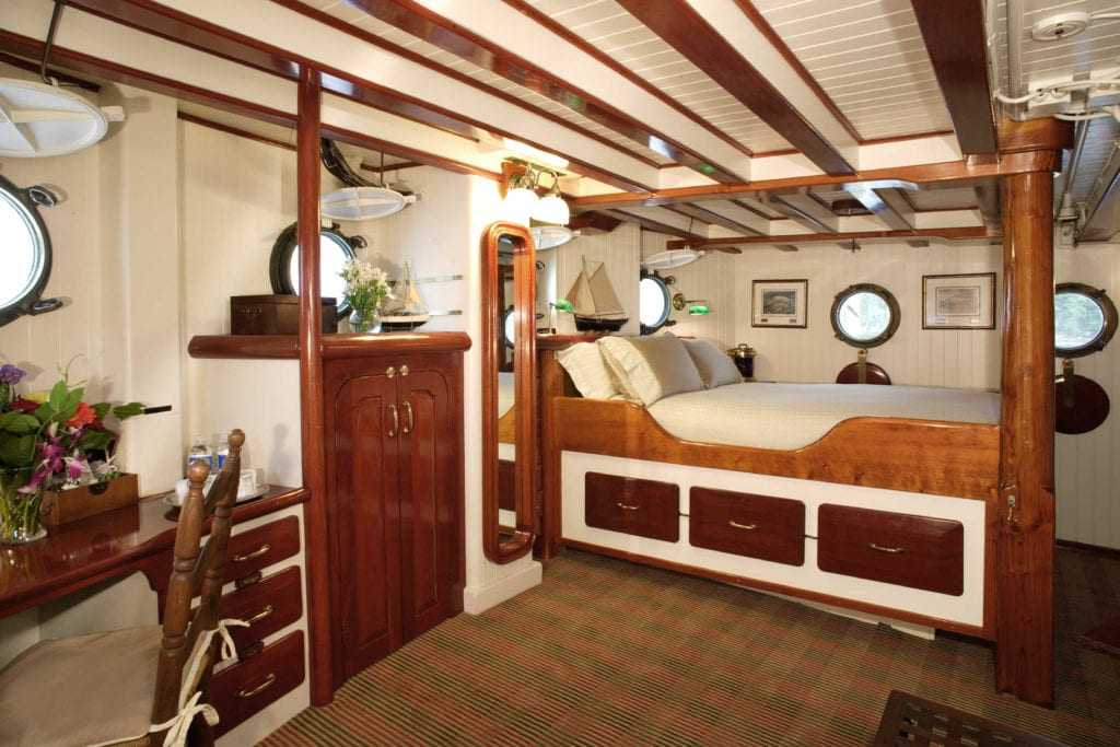 pacific yellowfin yacht interior