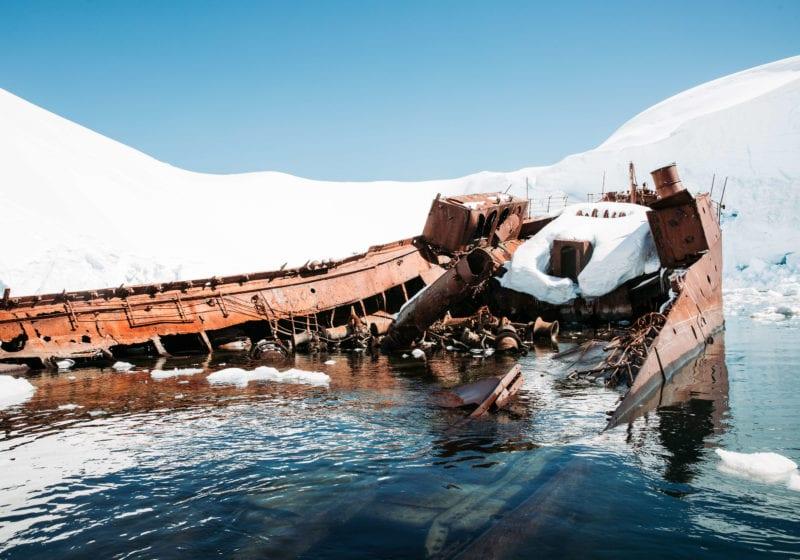 Pelorus Antarctica Ship Wreck