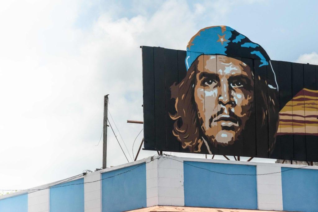 Pelorus Cuba Che Guevara Artwork