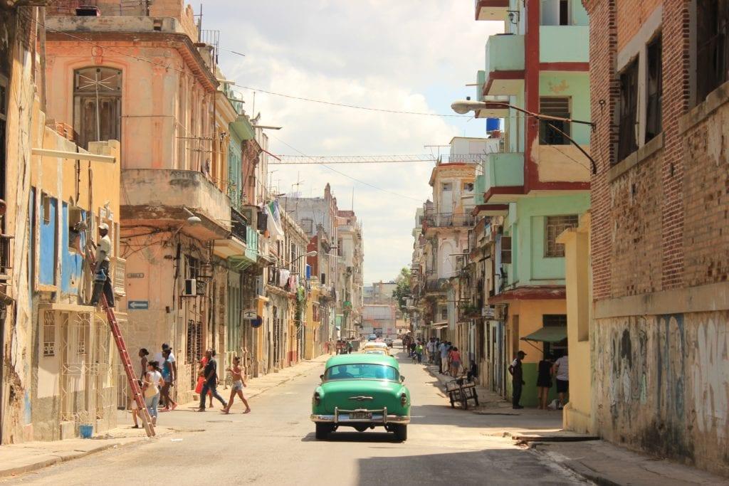 The streets of Havana in Cuba