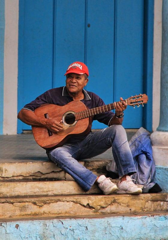 Pelorus Cuba Man Playing Guitar