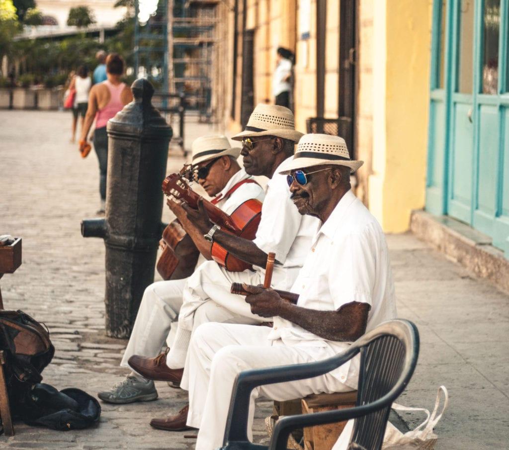 Street Music Band in Havana, Cuba