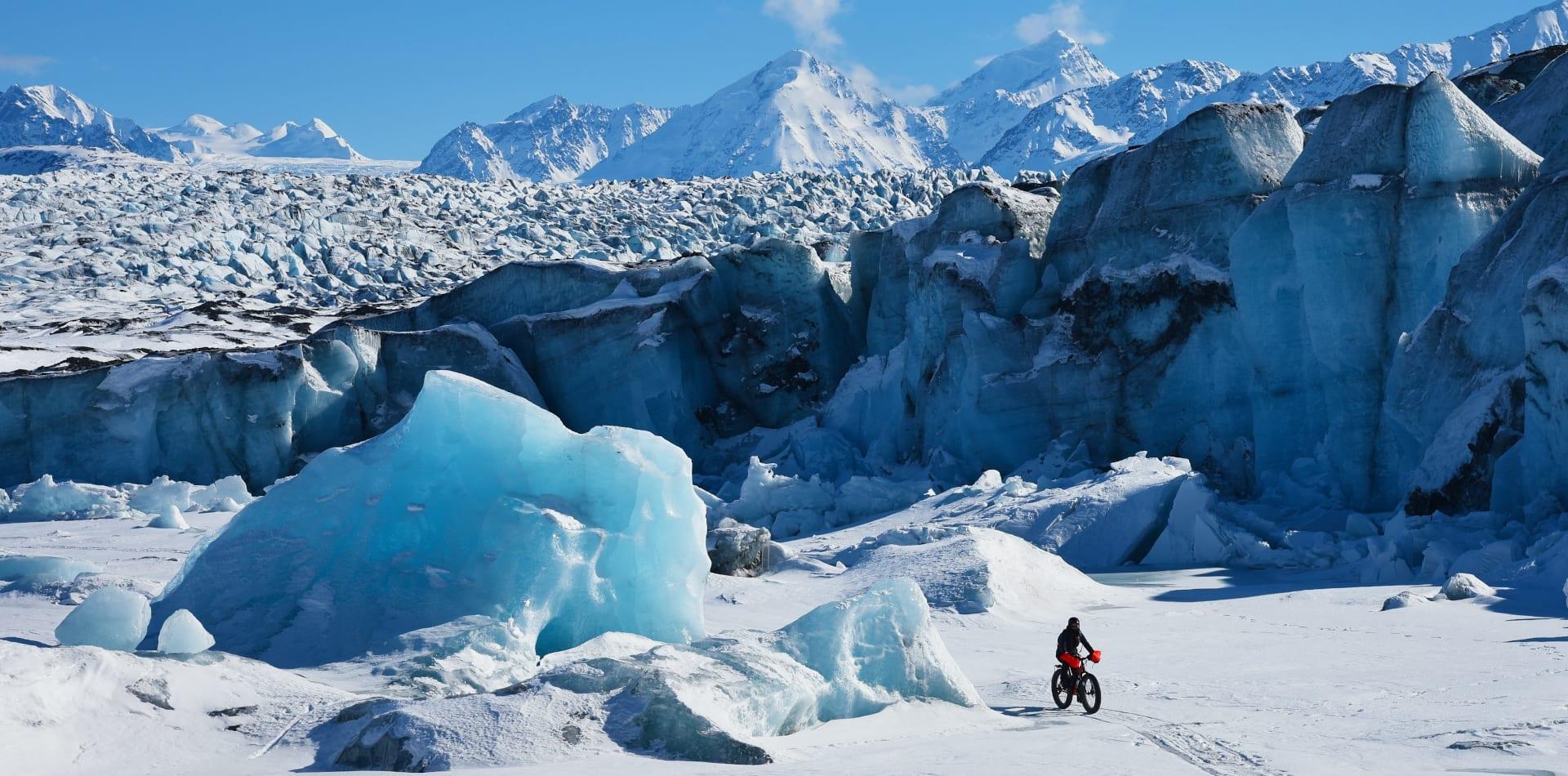 pelorus kink glacier alaska fat biking