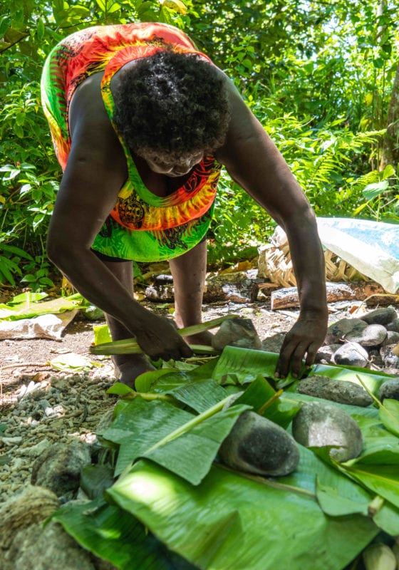 pelorus solomon islands cooking locals