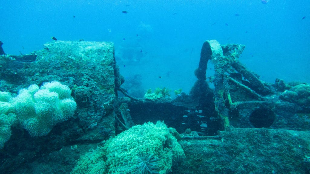 pelorus solomon islands world war ii fighter jet wreck