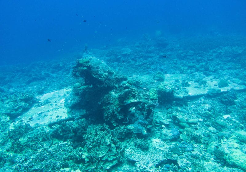 pelorus solomon islands world war ii plane wreck