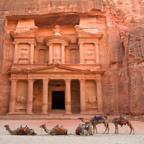 Ancient Beauty in the Lost City of Petra & Across Jordan