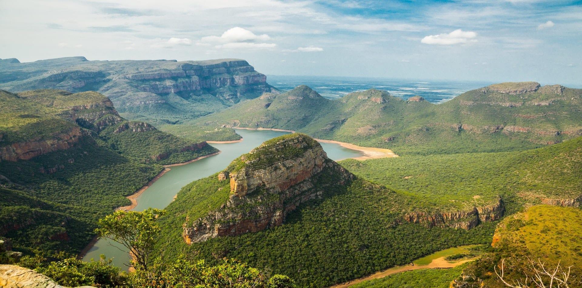 African wild landscape