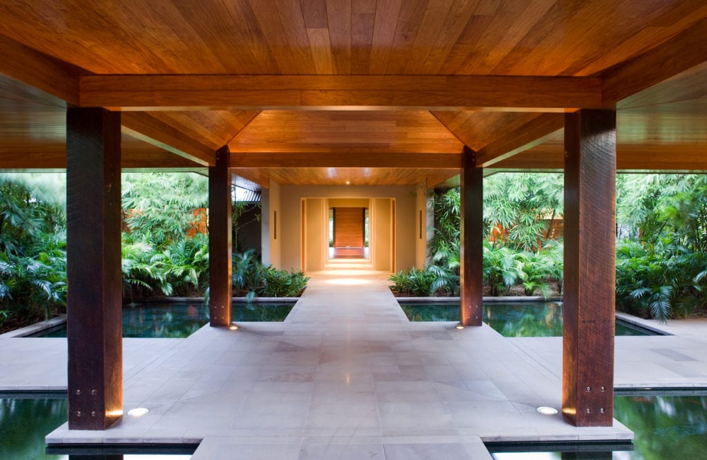 Tranquility Pools in the Spa at Qualia Whitsundays Australia