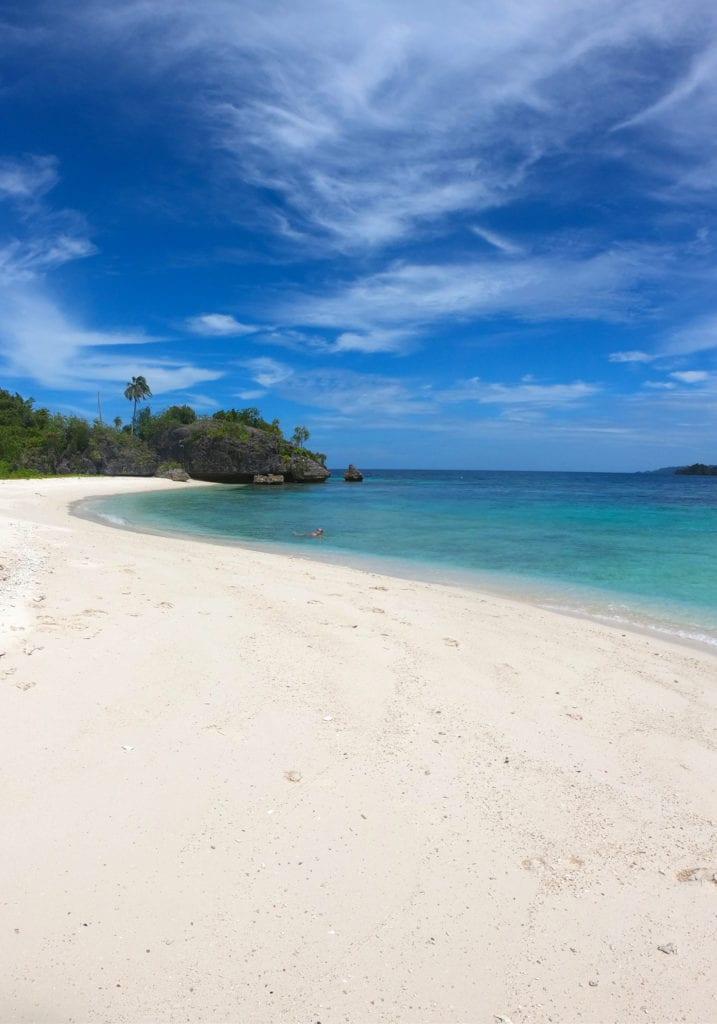 Raja Ampat Deserted Beach Pelorus