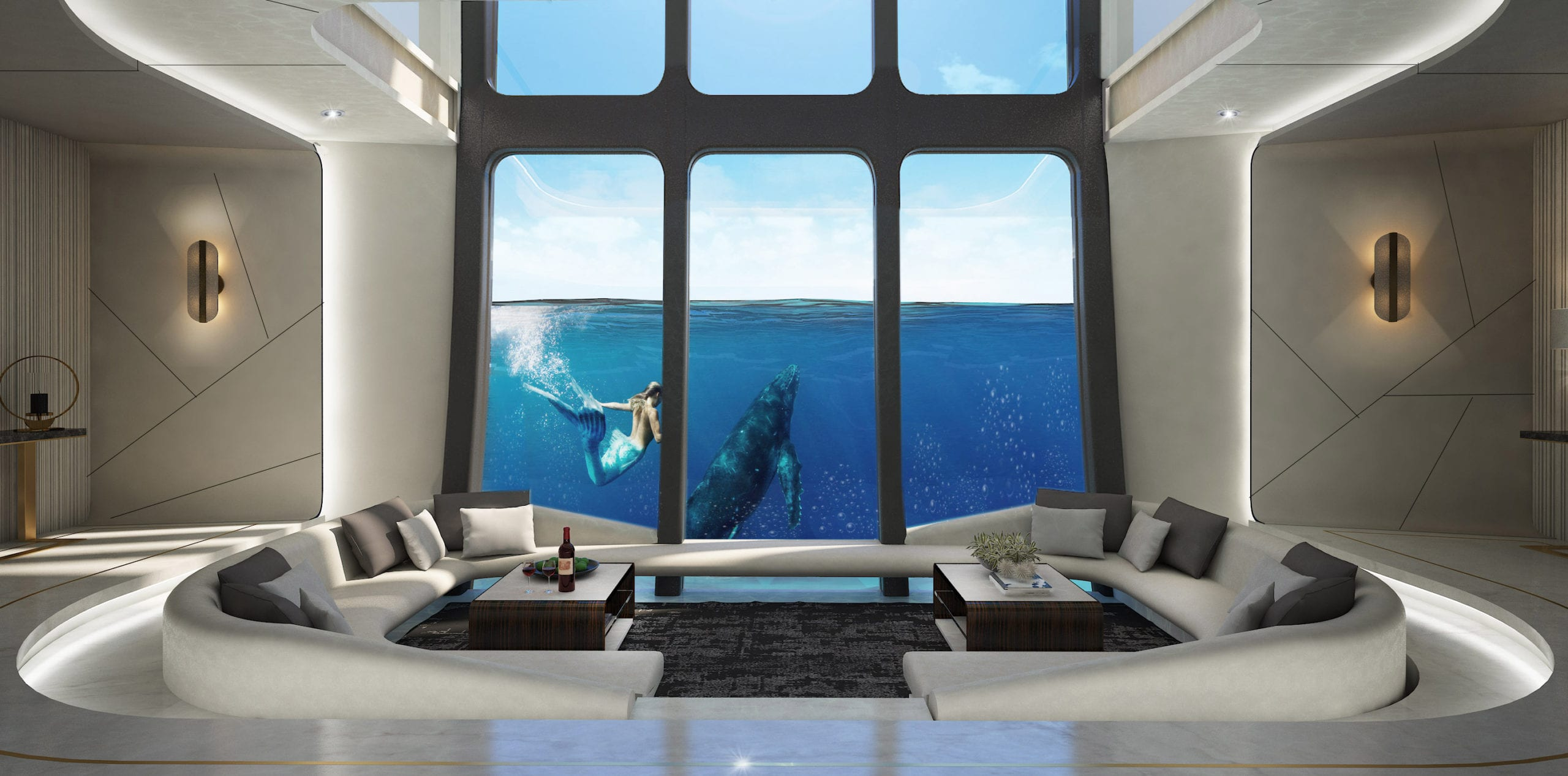 Rimor-X mermaid lounge
