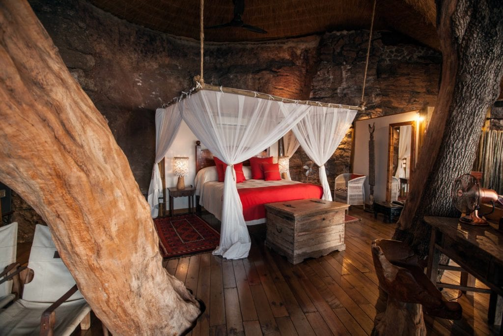Room in Tree Togabezi Lodge