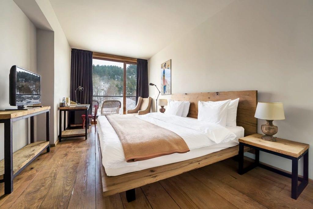 Rooms Hotel Kazbegi bedroom interior
