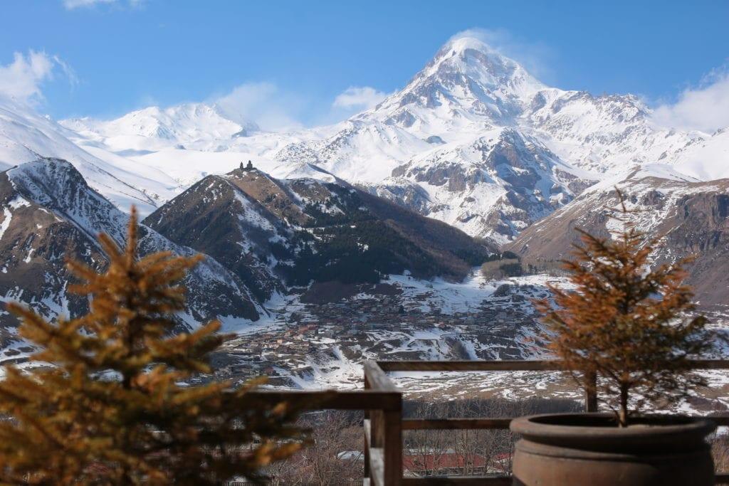 Rooms Hotel Kazbegi mountain views