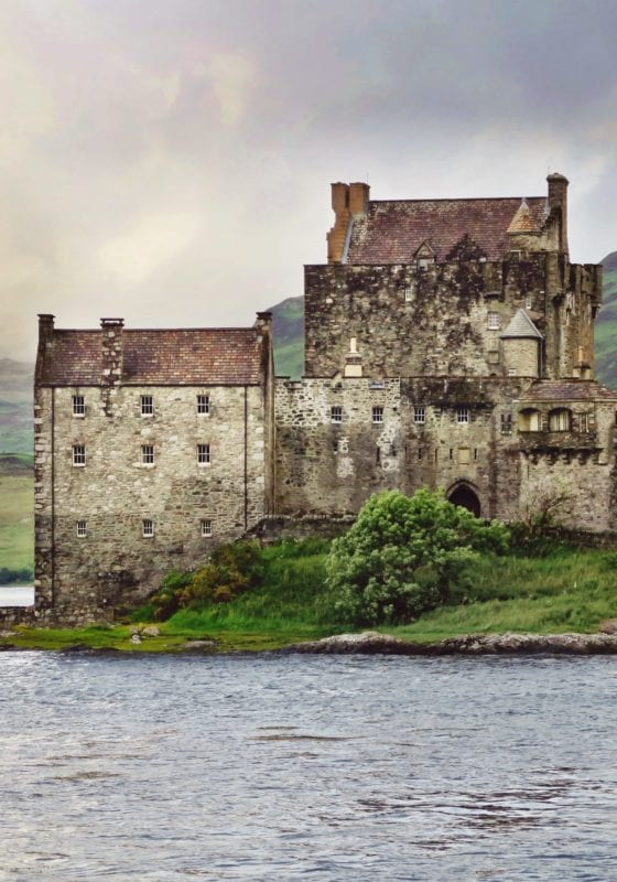 Scotland Castle Water Pelorus