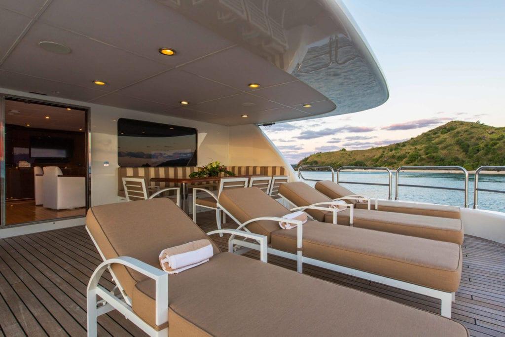 silentworld yacht aft deck