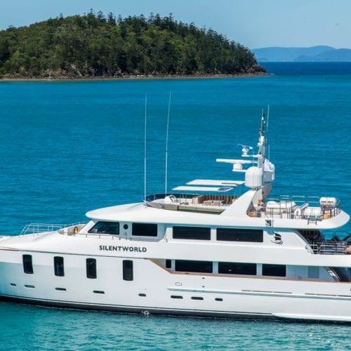 silentworld motor yacht exterior