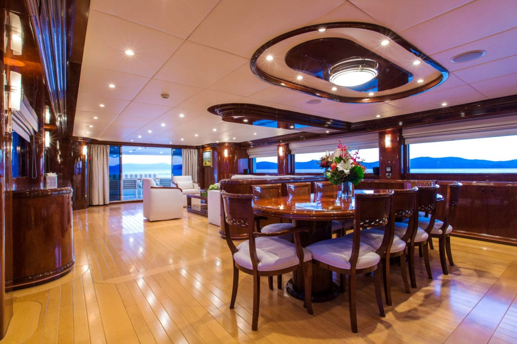 silentworld yacht interior