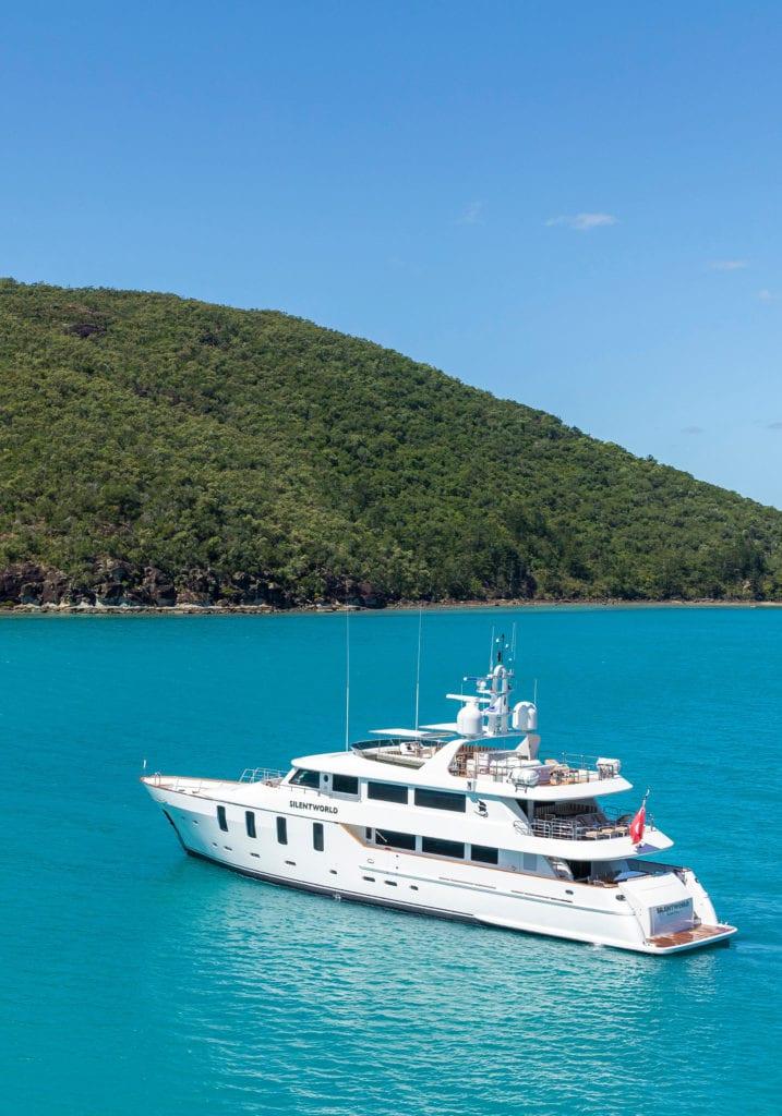 silentworld yacht exterior