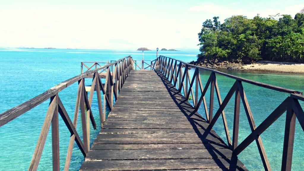 Snorkelling from Isla Secas Panama